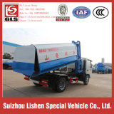 Camion di immondizia dell'autocarro con cassone ribaltabile della benna della gru 5 tonnellate di veicolo dei rifiuti