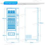 Npt máquina de venda automática com bebidas e snacks para GPRS