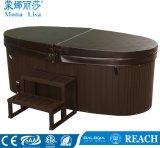 Vasca calda del doppio mulinello di lusso di massaggio di Monalisa (M-3360)