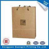 Saco de compra do papel de embalagem de Brown da alta qualidade