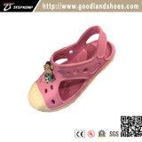 エヴァは快適な子供の女の子の偶然のピンクのスリッパの靴20279をからかう