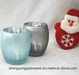 Revestimento de artigos de férias Glass Candle Holder Cup