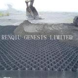 Geocell utilizados na protecção da Inclinação Íngreme