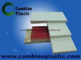 Placa laminada da espuma do PVC película colorida para a decoração da parede