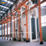 Q485 tipo Chain d'attaccatura macchina di pulizia di granigliatura