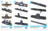 Precisión personalizado no estándar de las cadenas del transportador de cadena dentada