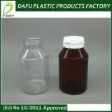 бутылка капсулы любимчика 180ml пластичная с крышкой верхней части Flip