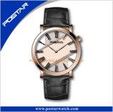 中国の製造者の日本Movt水晶腕時計のステンレス鋼の背部オンラインショッピング