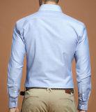 قطن زرّ إلى أسفل طور [أإكسفورد] قميص مع قفص صدر جيب