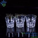 Твердые кристально чистый пластиковый стеклянный сосуд для дома/отель/бар питания