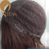Курчавый парик человеческих волос Afro для чернокожей женщины