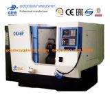 Torreta de cama de inclinación de la máquina-herramienta CNC y torno para Tck46p cortar metal girando