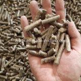 Opération d'usine matériel de fabrication de granules de bois granulés de bois appuyez sur