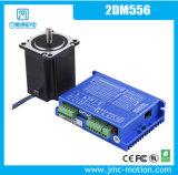 Impulsión híbrida 24~60VDC/5.6A del motor de pasos de Jmc 2dm556 Digitaces para la cortadora del plasma del CNC