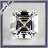 Diamond cut fancy shape Zirconia Cubique de pierres synthétiques