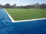 Gebruikte het Hof van de voetbal Fibrillated Kunstmatig Gras