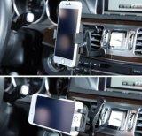 Montaje del coche de la horquilla del sostenedor con un botón de liberación rápida