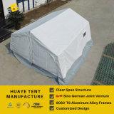 خيمة قوّيّة عسكريّة مع نوع خيش بناء لأنّ جيش إستعمال ([ه022غ])