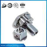CNC que trabaja a máquina el eje del motor del acero inoxidable de la alta precisión