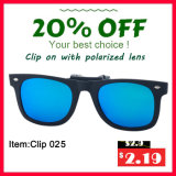 2016 óculos de sol Clip-on da forma nova