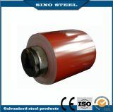 塗られたDx51dカラーは電流を通された鋼鉄コイルをPrepainted