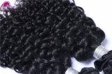 El cabello humano 100% Jerry el cabello rizado piezas