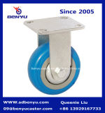 Hochleistungseisen-Kern-Polyurethan-Schwenker-Fußrolle mit Bremse