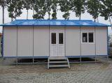 주문을 받아서 만들어진 Prefabricated 가벼운 강철 구조물 주거 집 (KXD-pH22)
