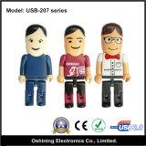 USB Flash Drive (di Design della gente serie USB-207)
