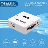 VGAのコンバーターへの1080P HDMI (3.5mmの音声出力と)