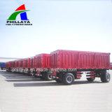 2 Eixos 8 pneumáticos do reboque completo de transporte de produtos agrícolas