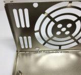 Boîte d'estampage adaptateur Power Metal Box Boîte d'estampillage pour l'ordinateur d'alimentation Alimentation du commutateur enveloppe en acier inoxydable