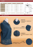 de las mujeres de lana Yak / cachemira de cuello redondo Cardigan capa / suéter / los géneros de punto / ropa / ropa