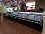 Showcase alimentar freezer/Chiller/Resfriador para uso comercial