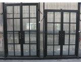 Heiße verkaufeneisen-französische Tür-HauptStahlHaustüren 60X96