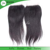 New Style Straight Brazilian Human Hair Swiss Laces Closure
