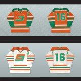 Настроить Qmjhl центре Чикутими Normand Leveille Sagueneens 16 мужская дети женщин оранжевого цвета Белый Хоккей футболках Nikeid Goalit вырезать футболках NIKEID