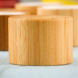 Capsule de empaquetage cosmétique avec la couverture en bambou