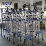 Reattore di vetro rivestito utilizzato prodotto chimico del laboratorio da vendere
