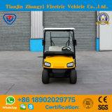 Carro de golfe elétrico de venda quente dos assentos de Zhongyi 2 para o recurso