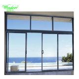 Persoonlijk Huis die het Grote Glijdende Glas Van uitstekende kwaliteit van de Deur van het Aluminium van het Glas gebruiken