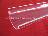 Customized Polish Arc Clear Quartz Glass Plate
