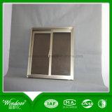 5mm doppelte Glasscheiben-Aluminiumtür-Fenster, niedriger Preis-Aluminiumfenster