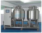 Sistemi in Place puliti caldi di CIP di buona qualità di vendite/sistema semi automatico automatico di pulizia di CIP di controllo di qualità del sistema di pulizia di CIP del serbatoio dell'acqua/acido/alcali