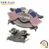 旧式な金属のカスタム帽子の折りえりは卸し売りYm1086をピンで止める
