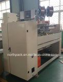 máquina de costura da Semi-auto caixa ondulada