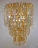 Manera decorativa con la luz cristalina de la pared/la iluminación interior