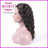 Peruca não processada brasileira da parte dianteira do laço do cabelo humano do Virgin da onda do corpo de Remy