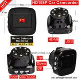 Câmera de vídeo Huiao Tech Camcorder com sensor G, câmera de carro CMME de 5.0mega DVR-1506