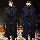 Form-gute Qualitätsklassischer Winter-langer Woolen Mantel der spätesten Männer